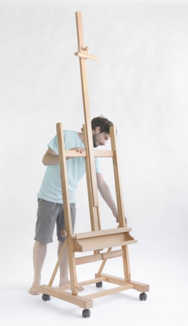 Cappelletto big stuido easel with wheels