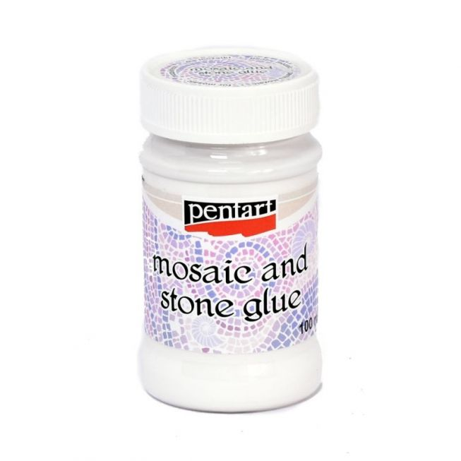 Mosaic and stone glue